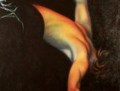 Techniques mixtes sur toile exécuté par Suzanne Goudreau
