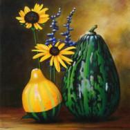 Acrylique sur toile exécuté par Suzanne Goudreau