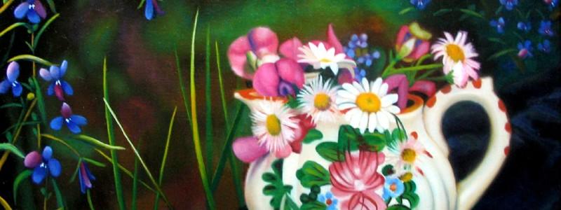 Huile sur toile exécuté par Suzanne Goudreau