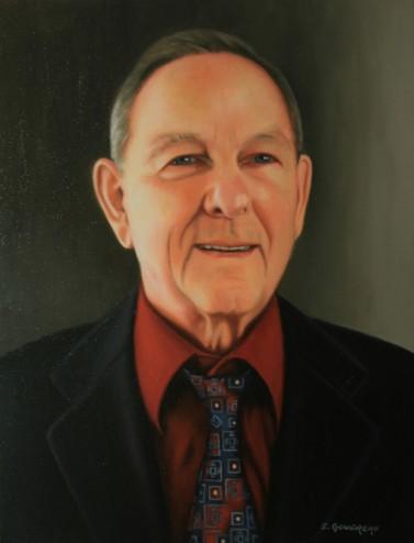 Portrait à l'huile d'André