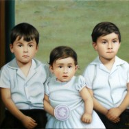 Portrait de famille exécuté par Suzanne Goudreau