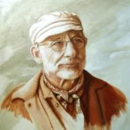 Portrait d'homme exécuté par Suzanne Goudreau